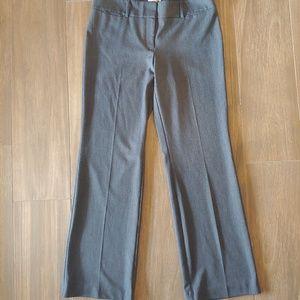 Ann Taylor LOFT Gray Career Dress Pants Size 10